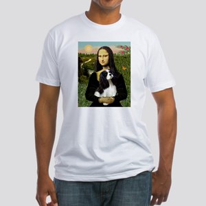 Mona & her Tri Color CKC Fitted T-Shirt