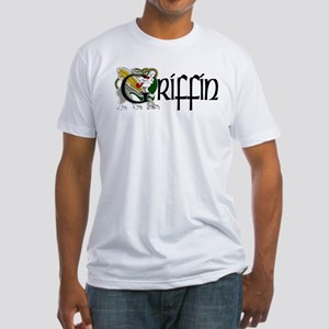 Griffin Celtic Dragon Fitted T-Shirt