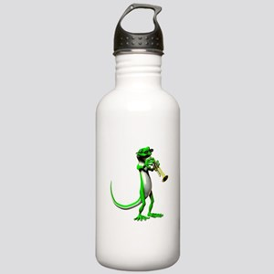 Blues Trumpet Gecko Stainless Water Bottle 1.0L