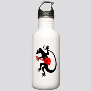 Gecko Guitar Stainless Water Bottle 1.0L