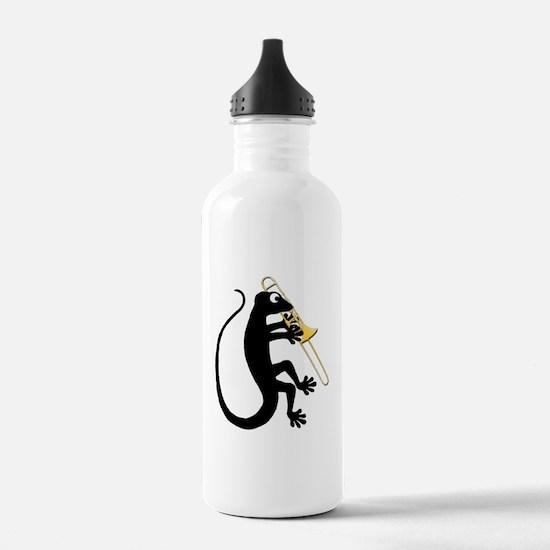 Gecko Trombone Water Bottle