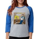 Timmy's Pet Snake Womens Baseball Tee