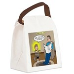 Timmy's Pet Snake Canvas Lunch Bag