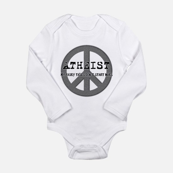 Cute Antireligion Long Sleeve Infant Bodysuit