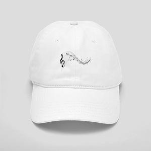 Mixed Musical Notes (black) Cap