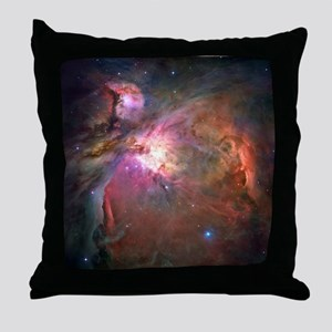 Orion Nebula Hubble Image Throw Pillow