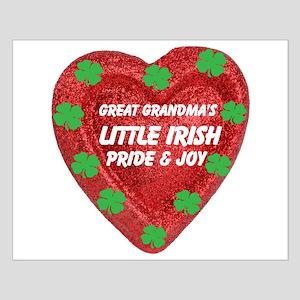 Irish Pride & Joy/Great Grandma Small Poster