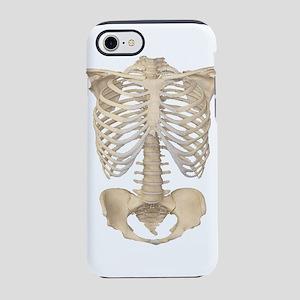 Scary halloween human skeleton iPhone 7 Tough Case