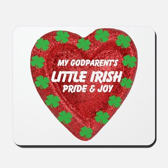Irish Pride and Joy/Godparent Mousepad