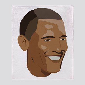 Barack Obama Throw Blanket