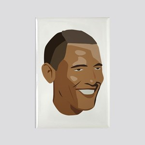 Barack Obama Rectangle Magnet