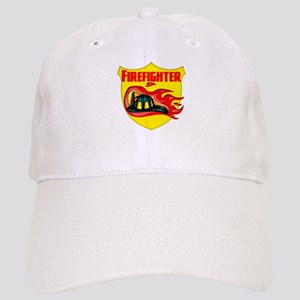 Firefighter Badge Cap