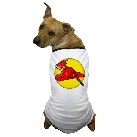 Firemens Tools Dog T-Shirt