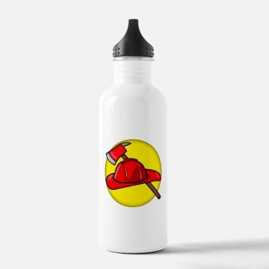 Firemens Tools Water Bottle