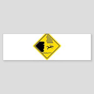 Sheldon's Gravity Joke Sticker (Bumper)