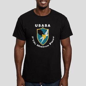 USASA Men's Fitted T-Shirt (dark)