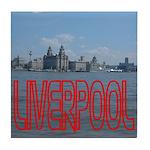 Scenic Liverpool LFC Red Tile Coaster