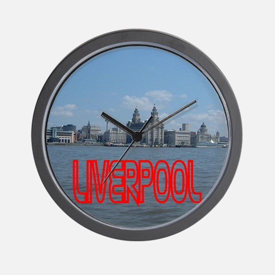 Scenic Liverpool LFC Red Wall Clock