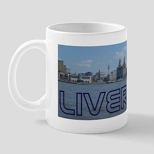 Scenic Liverpool (Blue) Mug