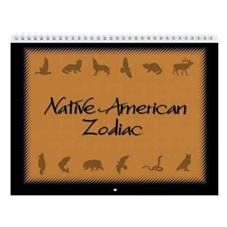 Native American Zodiac Wall Calendar