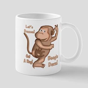 Dancing Monkey Mug