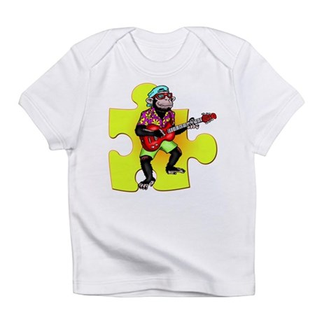Rock and Roll Monkey Infant T-Shirt