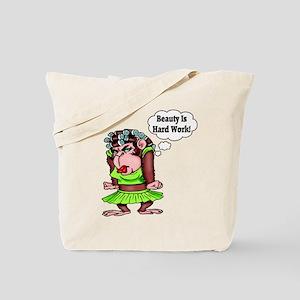 Funny Female Monkey Tote Bag