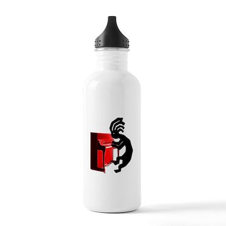 Kokopelli Piano Stainless Water Bottle 1.0L