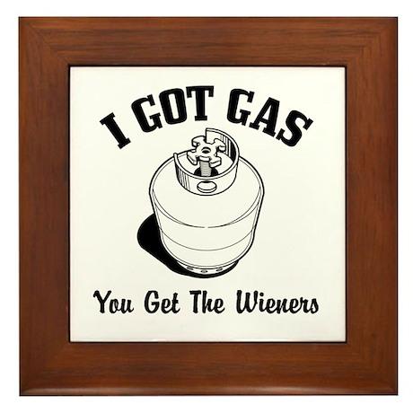 I Got Gas... Framed Tile