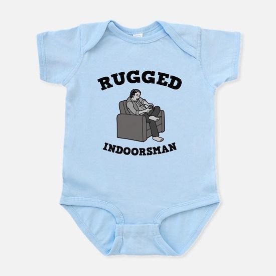 Rugged Indoorsman Infant Bodysuit