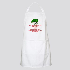 My Business Is Death Apron