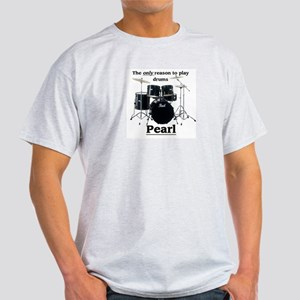 Pearl Drummer Design 2 Light T-Shirt
