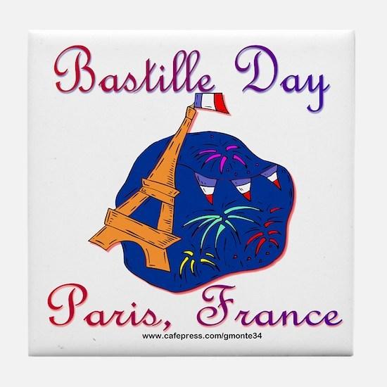 Bastille Day! Tile Coaster