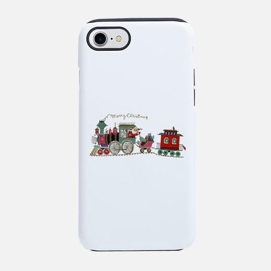 Christmas Santa Toy Train iPhone 7 Tough Case