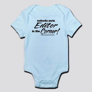 Editor Nobody Corner Infant Bodysuit