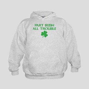 Part Irish All Trouble Kids Hoodie