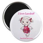 I love Lambie Magnet