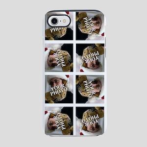 8 PHOTO Collage On White iPhone 7 Tough Case