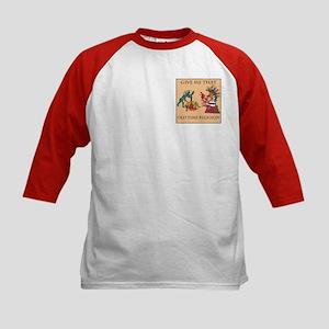Old Time Religion Kids Baseball Jersey
