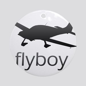 Flyboy Student/Private Pilot Ornament (Round)