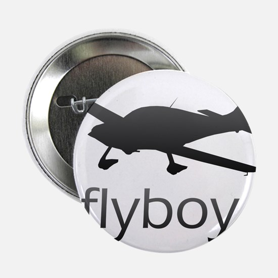 "Flyboy Student/Private Pilot 2.25"" Button"