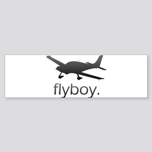 Flyboy Student/Private Pilot Sticker (Bumper)