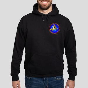 Star Fleet Command Hoodie (dark)