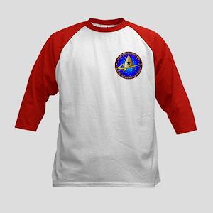 Star Fleet Command Kids Baseball Jersey