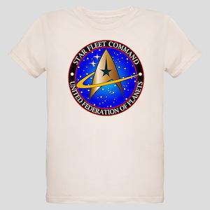 Star Fleet Command Organic Kids T-Shirt