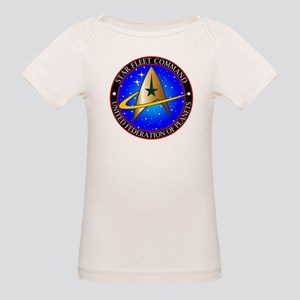 Star Fleet Command Organic Baby T-Shirt