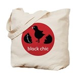 Black Chic Tote Bag