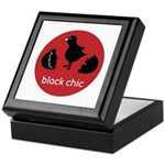 Black Chic Keepsake Box