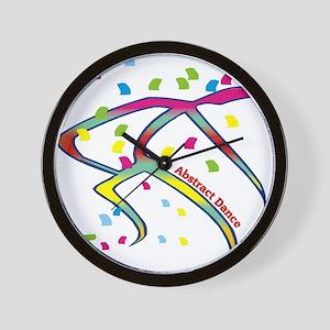 Abstract Dance Wall Clock