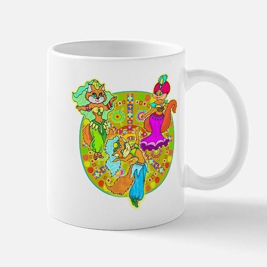 Cat Belly Dancers Mug